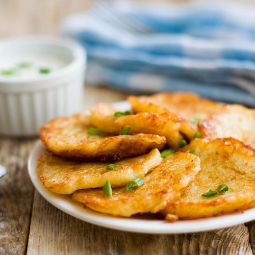 Korean mung bean fritters