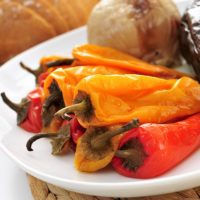 catalan escalivada of roasted vegetables