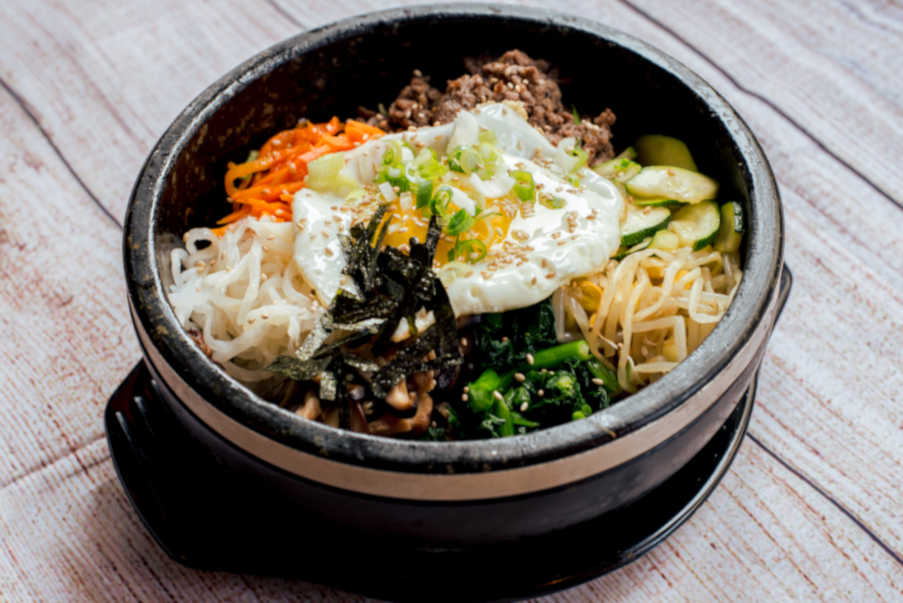korean dolsot bibimbap