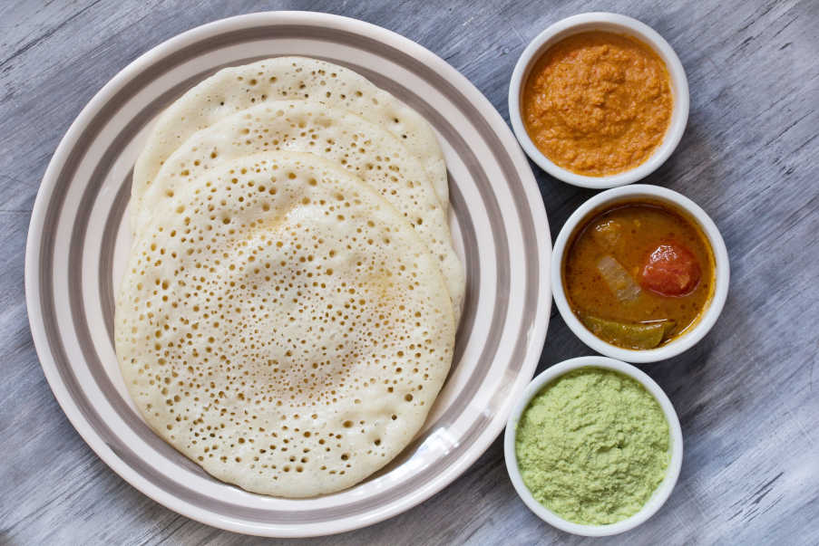 small indian dosa pancake