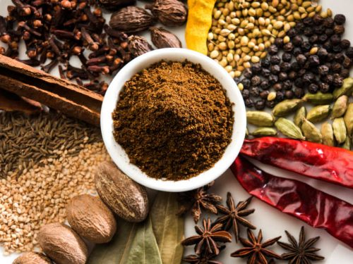 indian spices for garam masala
